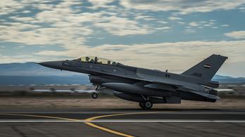 Iraki F-16-osok csaptak le az Iszlám Állam vezetőinek titkos találkozójára
