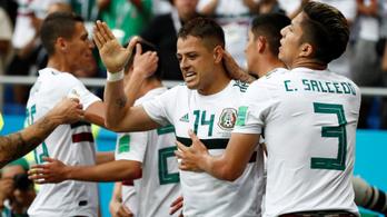 Mexikó: kettőből kettő az 50. Chicharito Hernandez-góllal