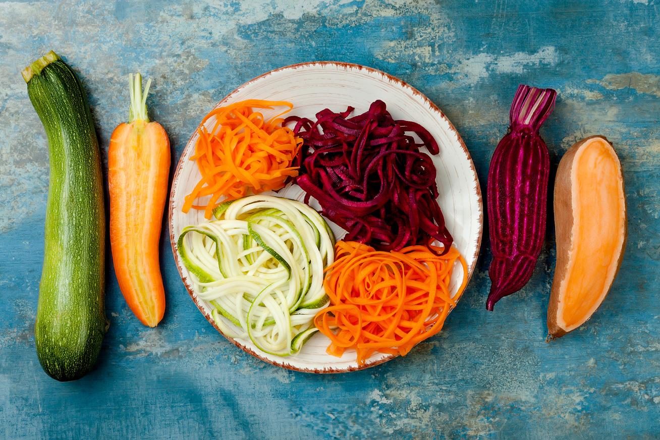 Szuperegészséges, szénhidrátmentes zöldségtészták: egyszerű, gyors és finom fogások