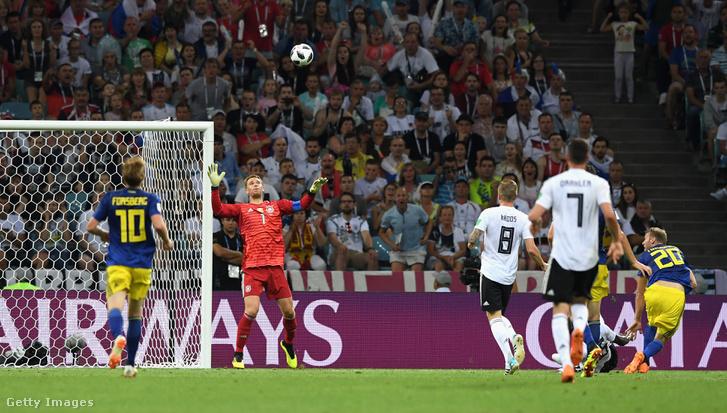 Amikor Toivonen átemelte Neuert, és Svédország vezetett