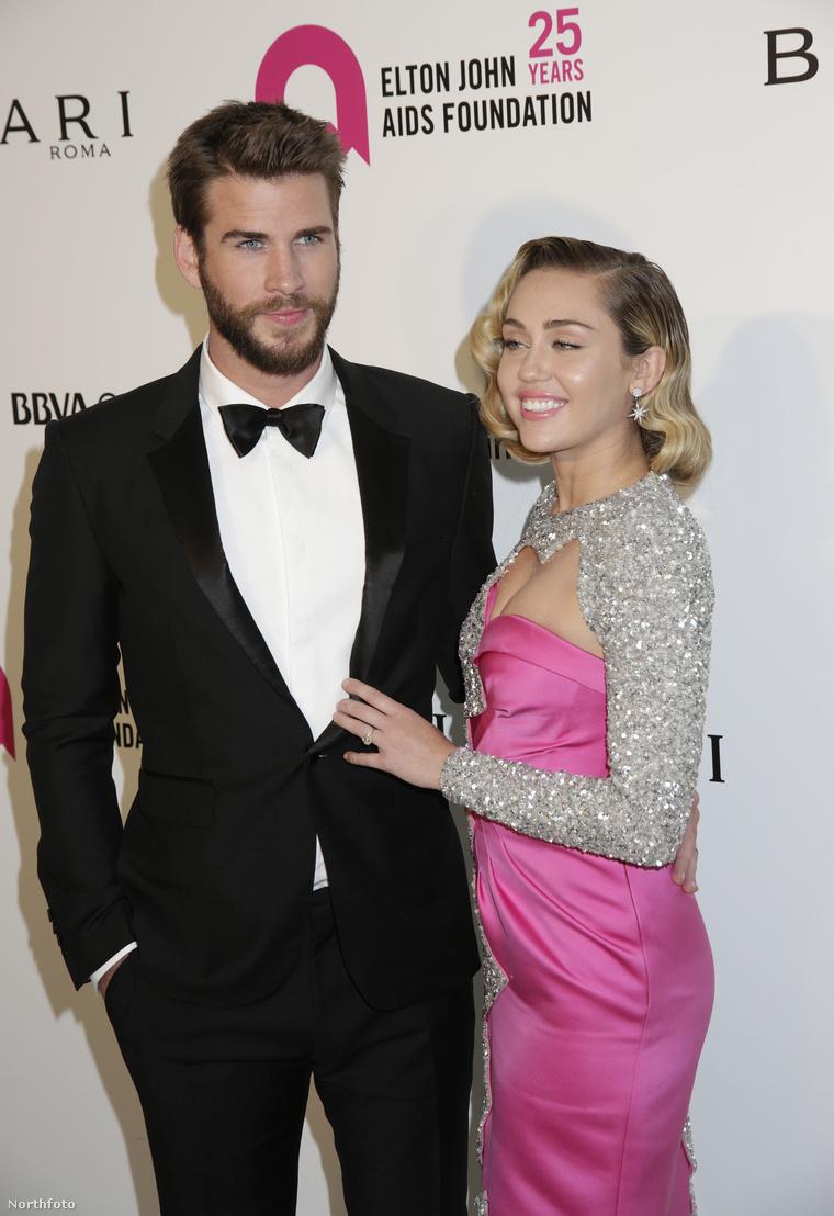 Ha ez igaz, akkor ők most már egy házaspár. (Ez a kép az idei Oscar-gála napján készült róluk, Elton John partiján.)