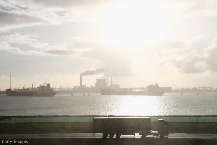 Rotterdam kikötője