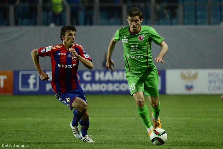 Ruslan Kambolov egy 2015. májusi meccsen