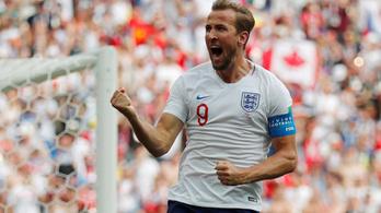 Anglia elpusztította Panamát, Kane lehagyta Ronaldót