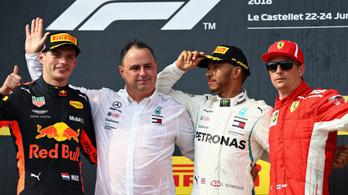 Hamilton nyert és unatkozott, Vettel ütközött