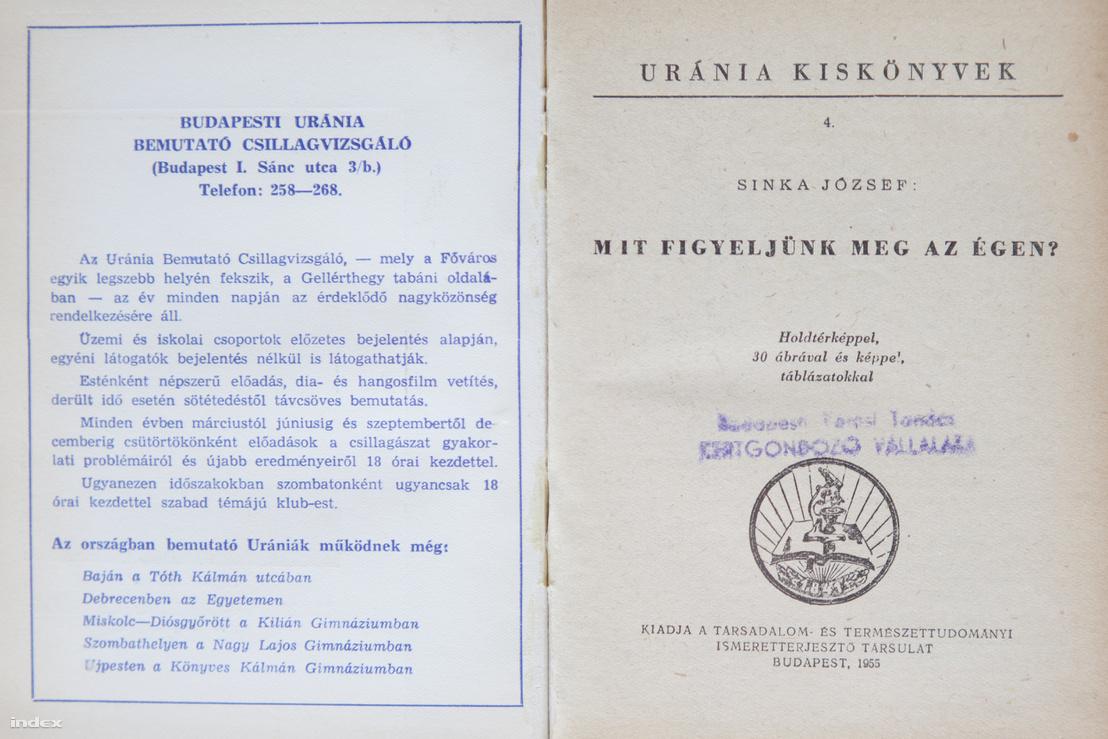 Ilyen is volt: a TIT által kiadott Uránia kiskönyvtár