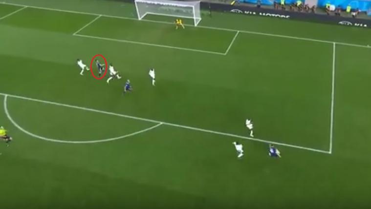 Nem volt les a második japán gól?