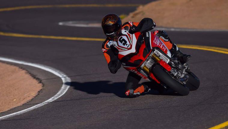 Titkos prototípust indít a Ducati a Pikes Peak-en