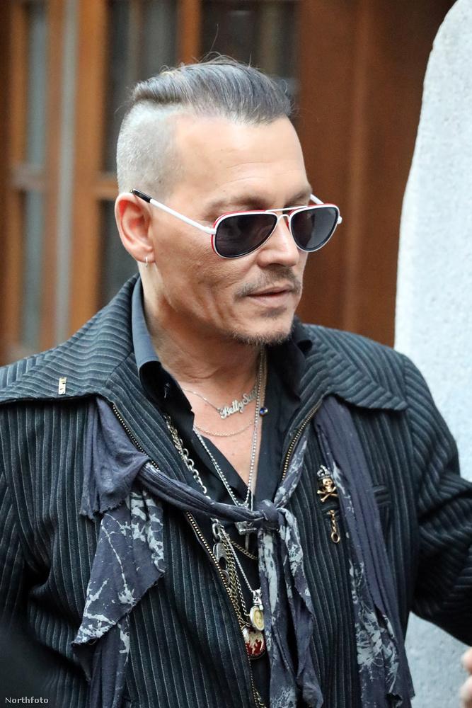 Egy kis gyors helyzetjelentés Johnny Deppről