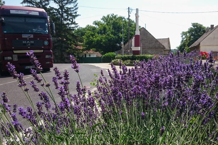 A kamionforgalom téma a faluban, de nem a legfontosabb