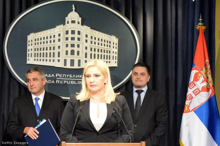 Zorana Mihajlović, szerb miniszterelnök-helyettes