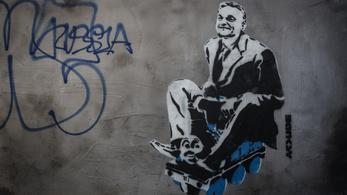Magára vállalta a Kétfarkú az ál-Banksy-alkotást