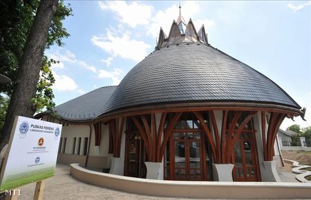 Szakmai-orvosi központ a Puskás Ferenc Labdarúgó Akadémia új épülete