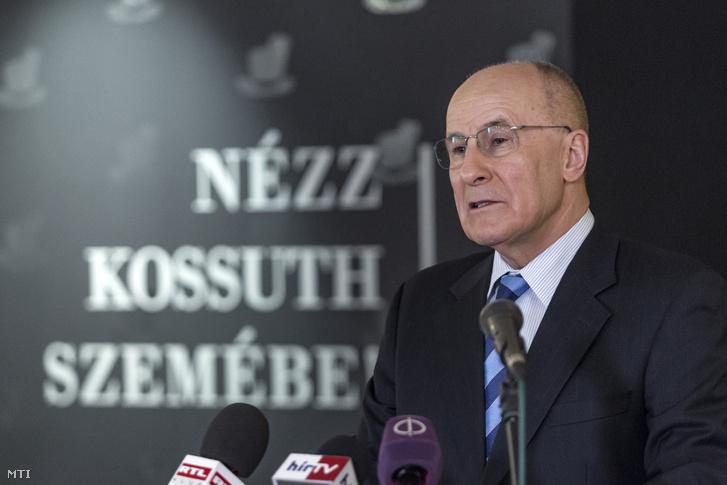 Gerhardt Ferenc a Magyar Nemzeti Bank (MNB) alelnöke