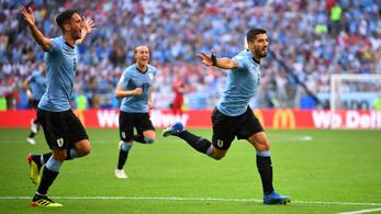 Uruguay elgázolta az oroszokat