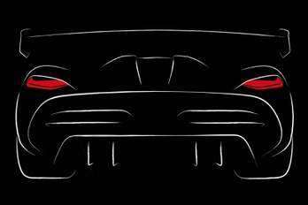 Vázlaton a következő Koenigsegg
