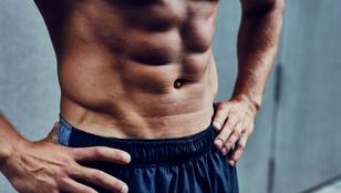 Mennyi edzés kell ahhoz, hogy kockás legyen a hasam?