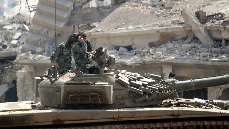 Megindult a háború Dél-Szíriáért