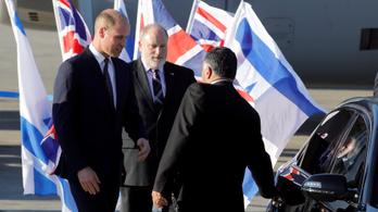 Vilmos herceg történelmi látogatást tesz Izraelben