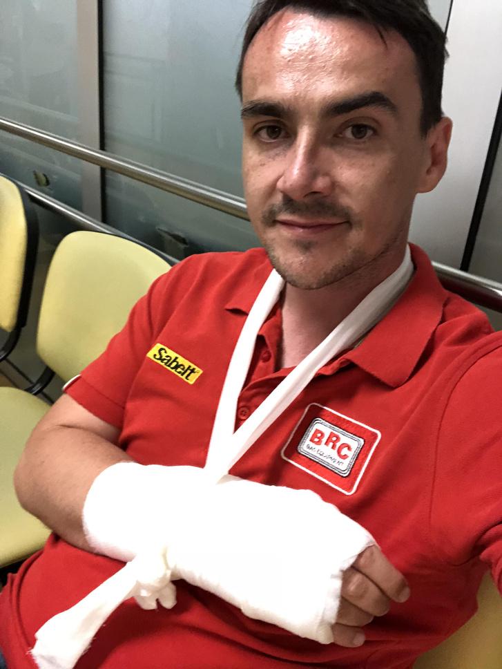 Michelisz Norbert a portugáliai sérülése után