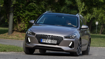Teszt: Hyundai i30 kombi 1.4 T-GDI – 2018.