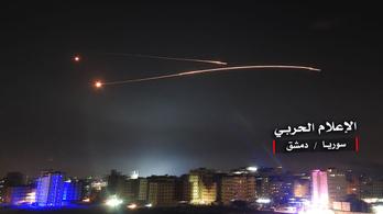 Izrael kilőtt egy gépet a damaszkuszi repülőtéren