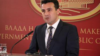 Lemond a macedón miniszterelnök, ha népszavazáson elbukik az ország új neve