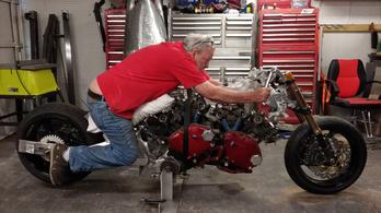 Megvan az év legdurvább motorépítő projektje