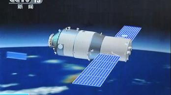 Furcsa dolgokat művel a kínai űrállomás