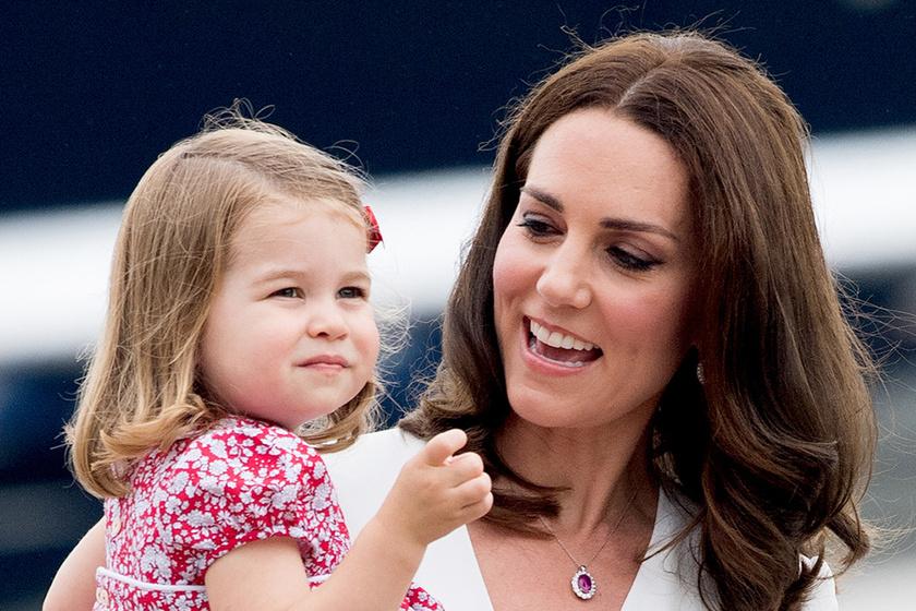 Mintha ikrek lennének - Charlotte hercegnő hasonmásától leesik az állad