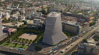 Megkapta az engedélyt a főváros legmagasabb irodaháza