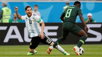 Argentína kiszenvedte, ott vannak a nyolcaddöntőben