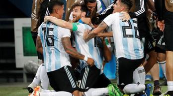 Neccesen, de Argentína visszatért, továbbment