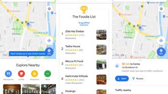 Érkezik az átalakított Google Térkép