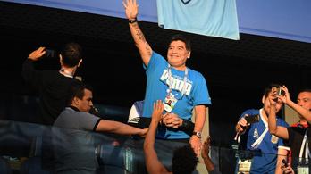 Maradona: Az orvos hazaküldött, de nem mehettem