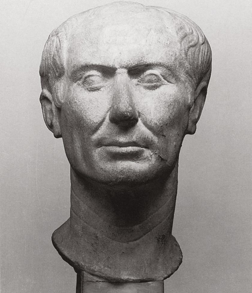 Korabeli műalkotások alapján rekonstruálták Julius Caesar külsejét. Valószínűleg ez a szobor mind közül a legélethűbb - lapozz, és nézd meg az új, 3D-s rekonstrukciót!