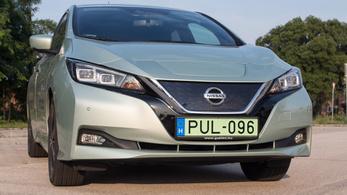 Teszt: Nissan Leaf - 2018.