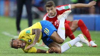 Neymar megint hordóként gurult
