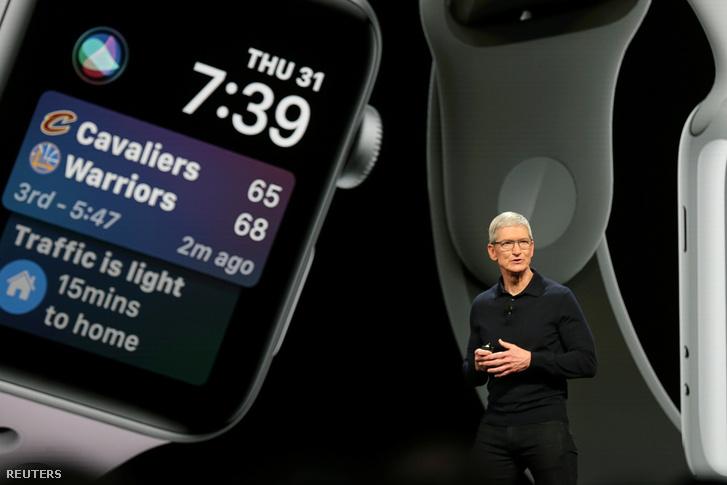 Tim Cook, az Apple vezérigazgatója