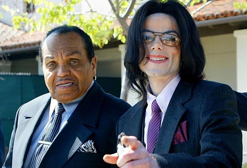 Fiával, a popkirály Michael Jacksonnal.