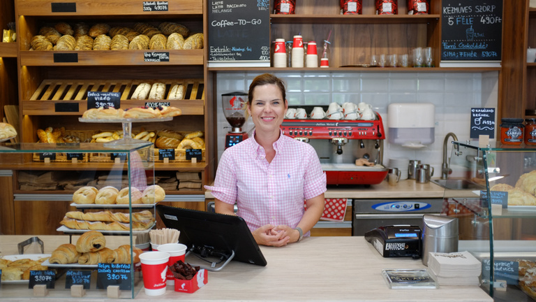 A marketingvezető, aki inkább pékséget nyitott
