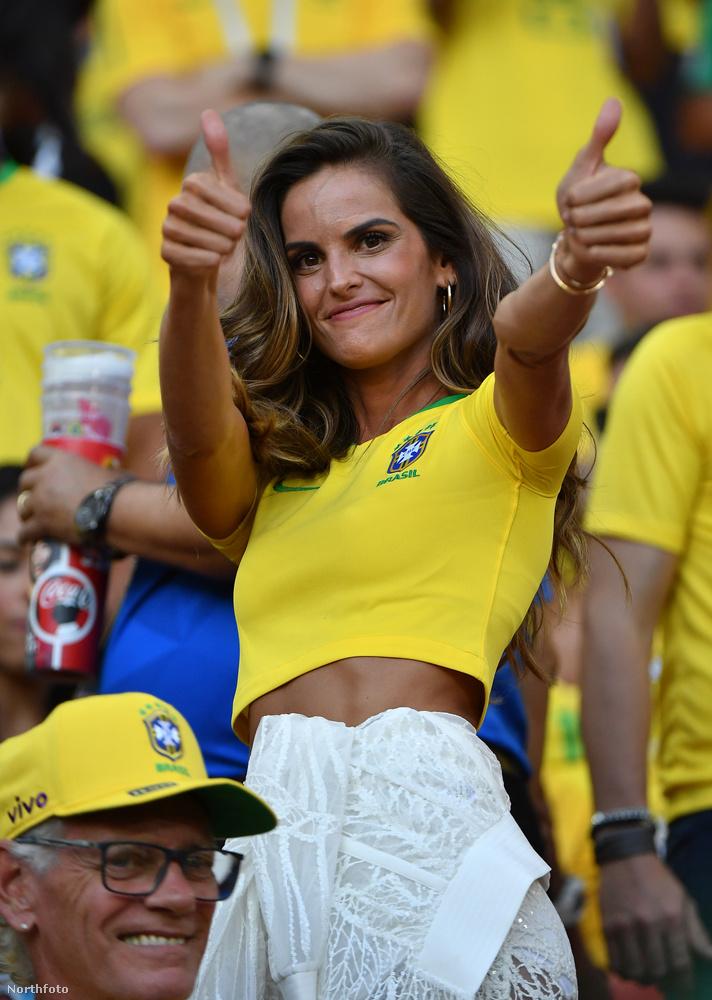 Ha esetleg nem tudná és mezről sem ismerné fel, Goulart a dél-amerikai ország válogatottjának szurkolt, hiszen ő is brazil származású.