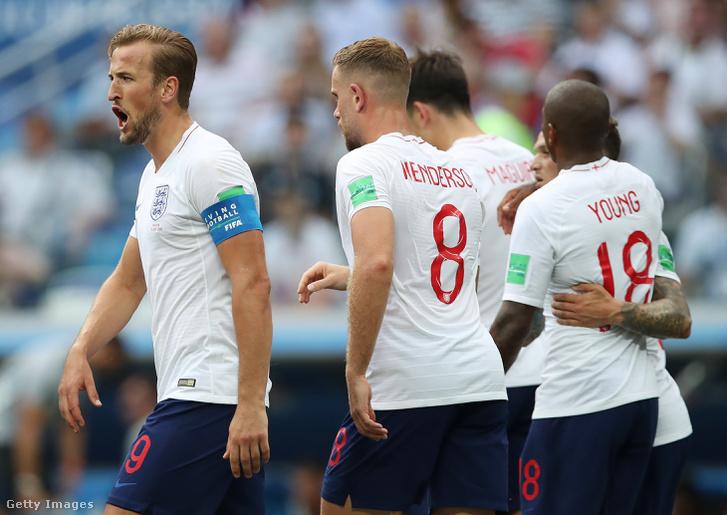 Harry Kane és az angolok