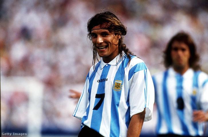 Az argentín Caniggia '94-ben