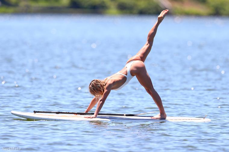 Aki azt hiszi, hogy neki a jóga nem kihívás, az nyugodtan kipróbálhatja ezt a nehezített fajtát.