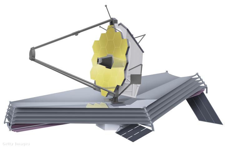 A James Webb űrtávcső terve