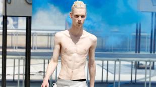 Összeszedtük a szezon legvékonyabb férfimodelljeit: fehérek, szőrtelenek