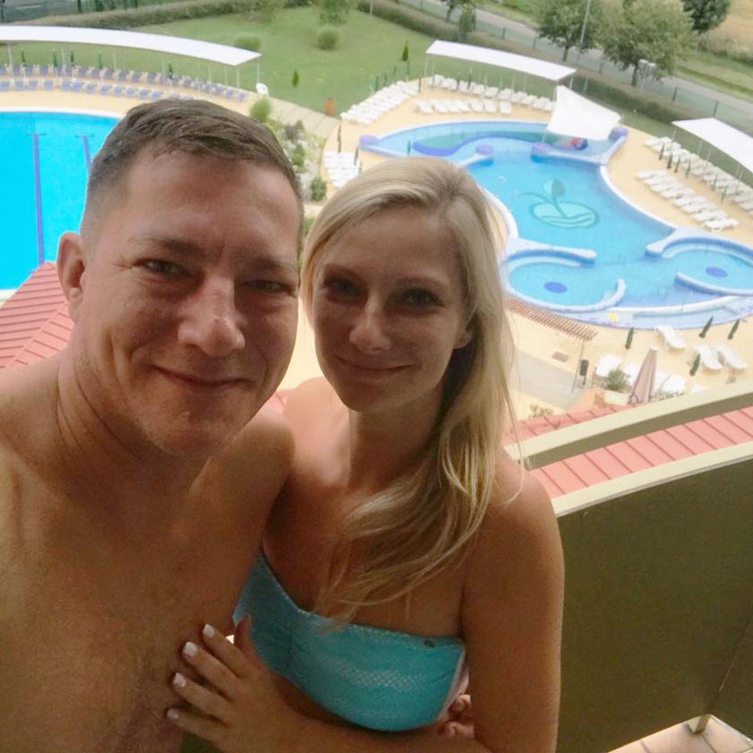 Németh Kristóf rajong gyönyörű kedveséért, Zitáért, akivel 2017 nyarán találtak egymásra.