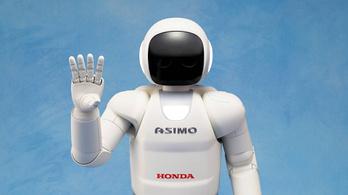 Nem készül több emberszerű Honda robot