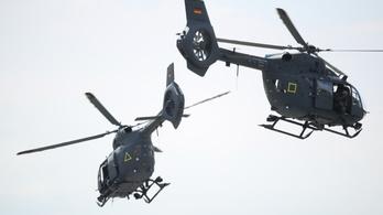 Húsz új katonai helikoptert vesz a magyar honvédség az Airbustól